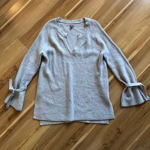 aerie Sweater with Tie Sleeves